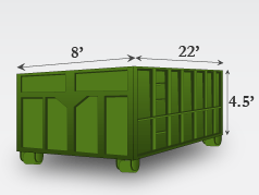 20 Yard Dumpster (3 tons)